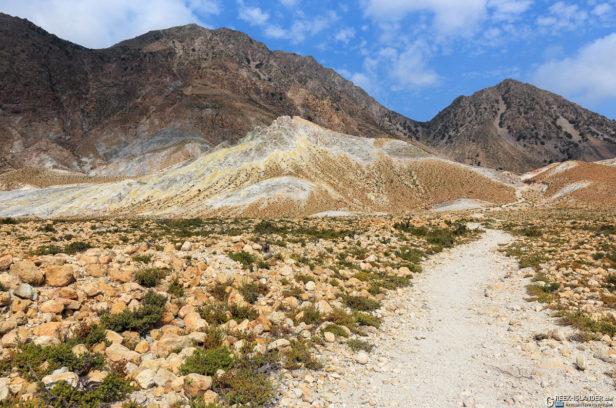 Тропинка к кратеру Поливотис