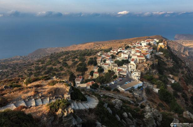 Деревня Никия, Нисирос