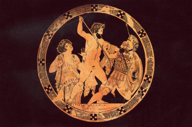 Битва Посейдона и Поливотиса