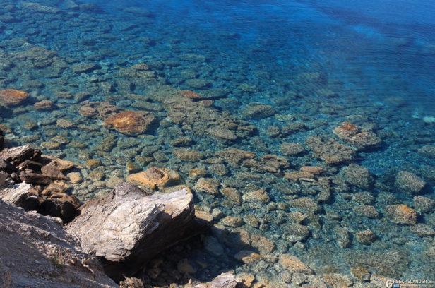 Пляж Мурос, Аморгос