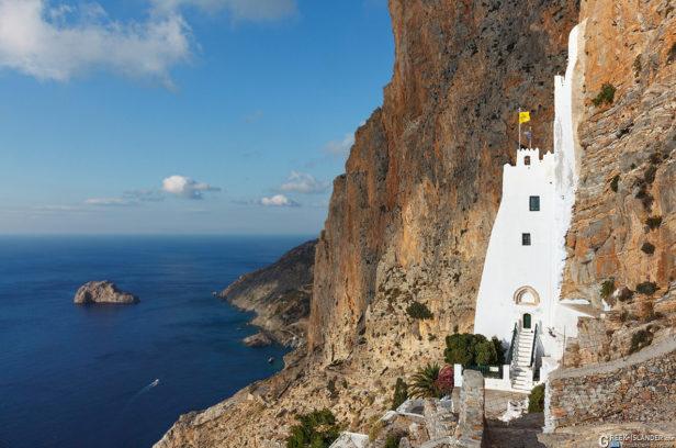 Монастырь Панагиа Хозовиотиса, Аморгос