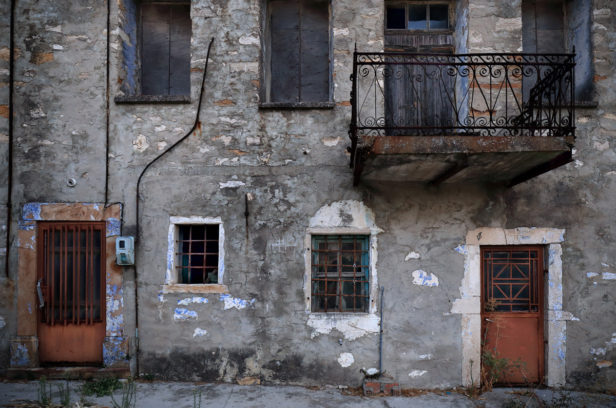Остров Хиос, Греция. Мастиховая деревня Эксо Дидима.