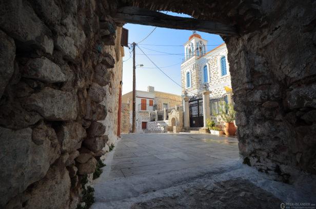 Остров Хиос, Греция. Мастиховая деревня Элата.