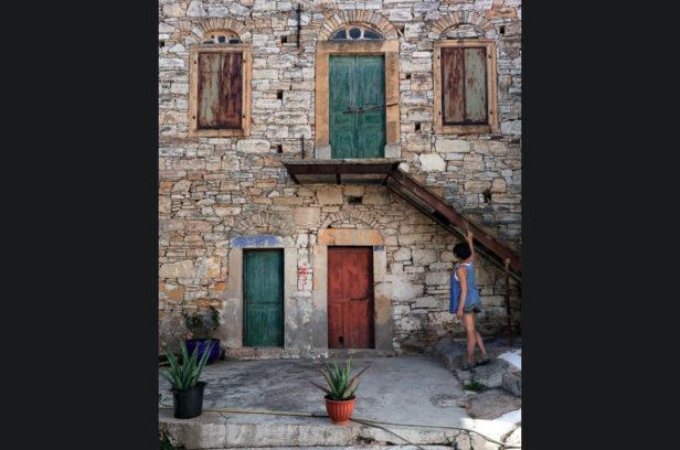 Остров Хиос, Греция. Мастиховая деревня Кини.