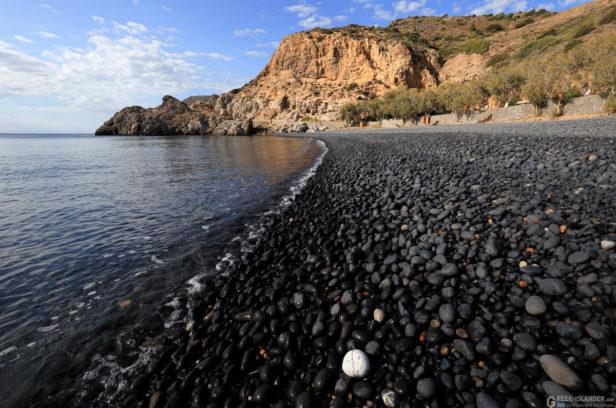 Остров Хиос, Греция. Пляж Мавра Волья
