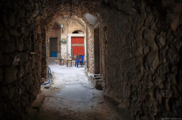 Остров Хиос, Греция. Средневековая мастиховая деревня Места