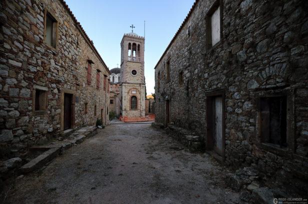 Остров Хиос, Греция. Монастырь Неа Мони