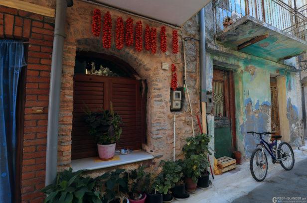 Остров Хиос, Греция. Мастиховая деревня Пирги