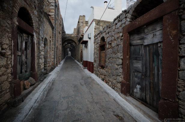 Остров Хиос, Греция. Мастиховая деревня Весса.