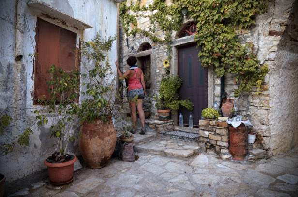 Остров Хиос, Греция. Мастиховая деревня Вуно.