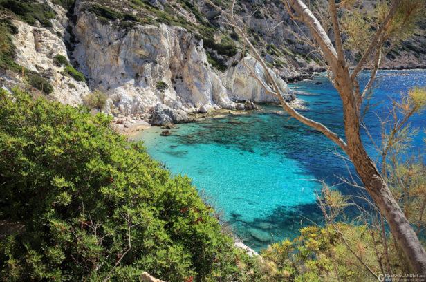 Остров Хиос, Греция. Пляж Врулидья