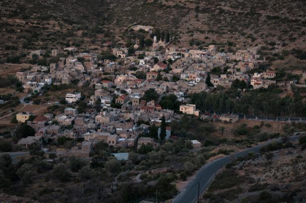 Остров Хиос, Греция. Мастиховая деревня Весса